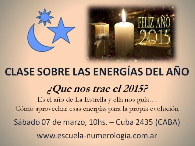Energias del 2015 7 de marzo